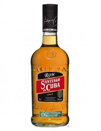 SANTIAGO DE CUBA AÑEJO 700 ml,