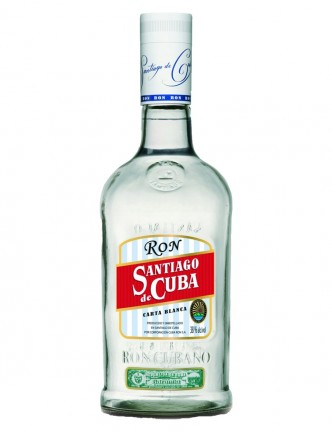SANTIAGO DE CUBA CARTA BLANCA 700 ml,
