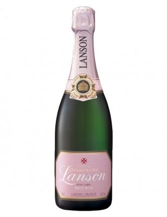 LANSON ROSÉ LABEL 0,75 cl. (3/4) CHAMPAGNE